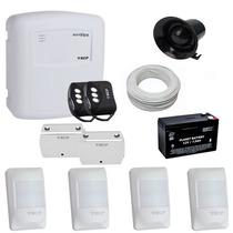 Kit Alarme Residencial E Comercial Ecp Com 6 Sensores