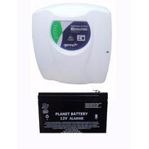 Central Choque Cerca Elétrica E Alarme Genno + Bateria