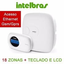 Central De Alarme Intelbras Amt 2018 Eg Gsm/gprs Topdelinha