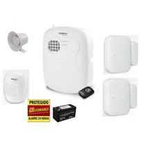 Kit Alarme Residencial Comercial Completo Intelbras