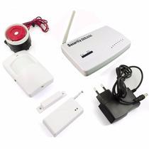 Kit De Alarme Residencial Gsm Sistema Wireless Sms/gprs C304