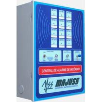 Kit Central De Alarme De Incêndio 12 Setores C/ Bateria 7a