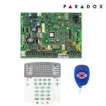 Kit Central Paradox Mg5050 + Teclado K32rf + Controle Remoto
