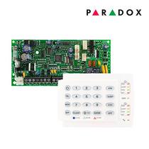 Kit Alarme Residencial Monitorado Paradox 32 Zonas + Teclado