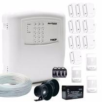 Kit Alarme Residencial E Comercial Sem Fio Ecp Disc Iso 9001
