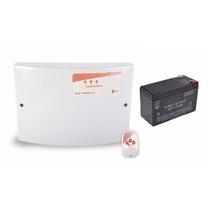 Central De C. Elétrica Gcp 10000 Cr Inmetro + Bateria 12v 7a