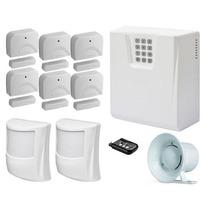 Kit Alarme Residencial Comercial Sulton Cls 1400