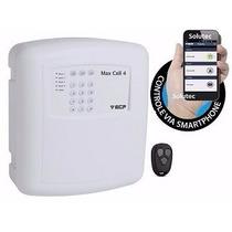 Central De Alarme Gsm Max 4 Cell Com Discadora De Celular
