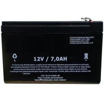 Bateria 12v 7a 7ah Para Alarme Cerca Eletrica No Break Ups