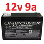 Bateria Selada 12v 9a Up1290 Nobreak Alarme 9ah Unipower *