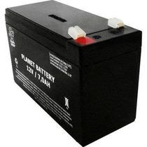 Bateria Para Alarme E Cerca Elétrica 12v/7ah.