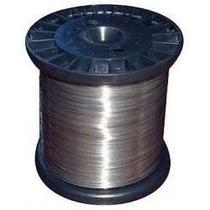Fio De Aço Inox 0,45mm Para Cerca Elétrica 500 Gr 450m