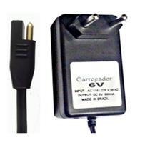 Carregador 6v Para Baterias 12ah - 7,2ah - 4,5ah - Brinquedo