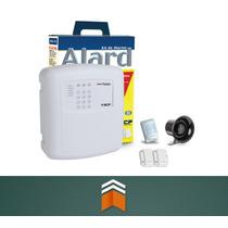 Kit Alarme Alard Max 4 Residencial E Comercial C/ 3 Sensores