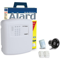 Kit Alarme Para Comércio E Residencia Sem Fio- Ecp Iso 9001
