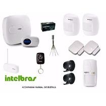 Kit Central Alarme Monitorada Intelbras Amt2018 Eg Completo