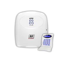 Central De Alarme Monitorada Active 8 Ultra Teclado Lcd Jfl