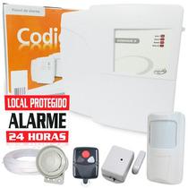 Kit Alarme Residencial E Com. Ppa 2 Sensores Sem Fio +brinde