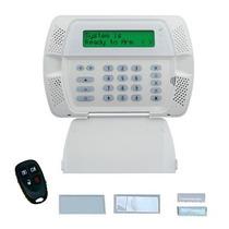 Kit Central Pwr9045 Lcd Dsc De 32 Zonas S/fio + 1 Ivp + Cont