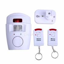 Alarme Residencial- Anti Furto 2 Controles Sensor Presença
