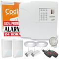Kit Alarme Residencial E Com. Ppa 4 Sensores + Discadora