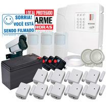 Kit Alarme Residencial Ou Comercial Sem Fio Ppa + Brindes
