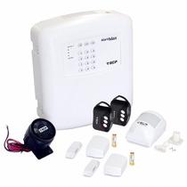 Alarme Residencial S/ Fio 3 Sensores 2 Controles Ecp
