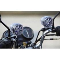 Caixa De Som Alarme Moto Mp3 Usb Radio Fm Seguranca Controle
