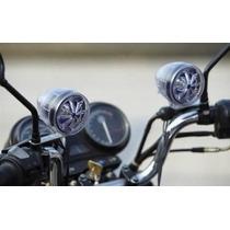 Caixa De Som Moto Mp3, Alarme Segurança E Radio Fm Cartão Sd