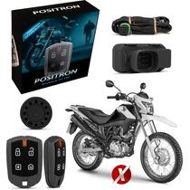 Alarme Moto Pósitron Fx G7 330 Honda Bros Nxr + Fç Presença