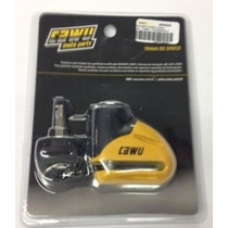 Trava Moto Disco Media - 5.5mm - Pto/amarela Cawu 504438