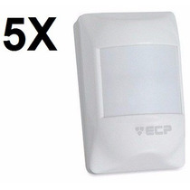 Kit 05 Sensores Infravermelho Passivo Ivp Visory Pet Ecp