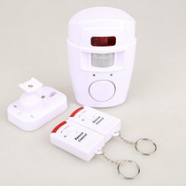 Kit Alarme Residencial Sensor Sirene E 2 Controles Wireless