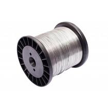Fio Aço Inox Cerca Eletrica Carretel Bobina Rolo 0,90mm