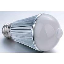 Lâmpada De Led C/ Sensor De Presença - 6w, Bivolt 110v 220v