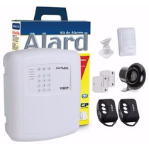Alarme Residencial Comercial Ecp Alardmax 4 Sem Fio