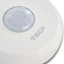 Sensor Iluminação 360° Presença Acende Apaga Luz Ecp Ls360ts