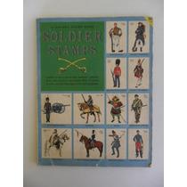 A Golden Stamp Book - Soldier Stamps - 1957! Em Inglês!