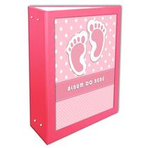 Álbum Do Bebê Feminino 10x15 - 600 Fotos + Brinde Especial