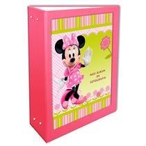 Álbum Minie Rosa Bebê 10x15 - 600 Fotos + Brinde Especial