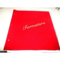 Álbum Formatura 15x21 Universal Vermelho( Leia O Anúncio )