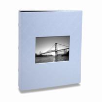 Álbum De Fotos Black - 13x18 Cm - Azul Bebê