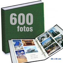 Álbum Jumbo De Fotografias P/ 600 Fotos De 10x15 Cm