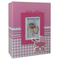 Álbum P/200 Fotos 10x15 - Modelos Bebe E Capa De Couro.