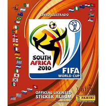 Álbum Copa Do Mundo 2010 + 220 Figurinhas Soltas Frete Gráti