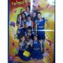 Álbum Poster Mega Buzzy Chiquititas + 10 Figuirnhas
