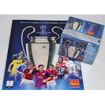 Uefa Champions League 2011/12 - Album + Box 50 Envelopes