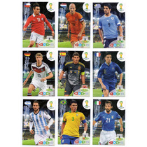 Cards Copa 2014 Adrenalyn Album Todos 210 Base Cards Panini