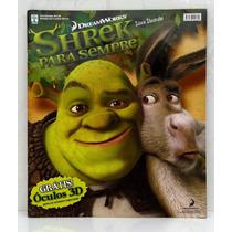 Álbum De Figurinhas Shrek Para Sempre Vazio Sem Figurinhas