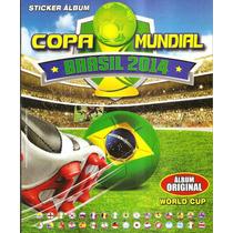Album Copa Do Mundo 2014 - Ed Navarrete Completo Fig Soltas